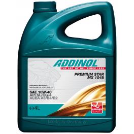 ADDINOL Premium Star MX 1048 10W-40 4л.